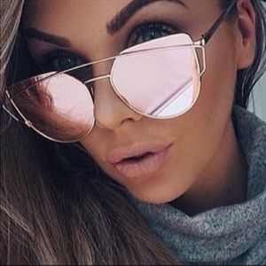🔥🔥Rose Mirrored Aviator Sunglasses 🔥🔥